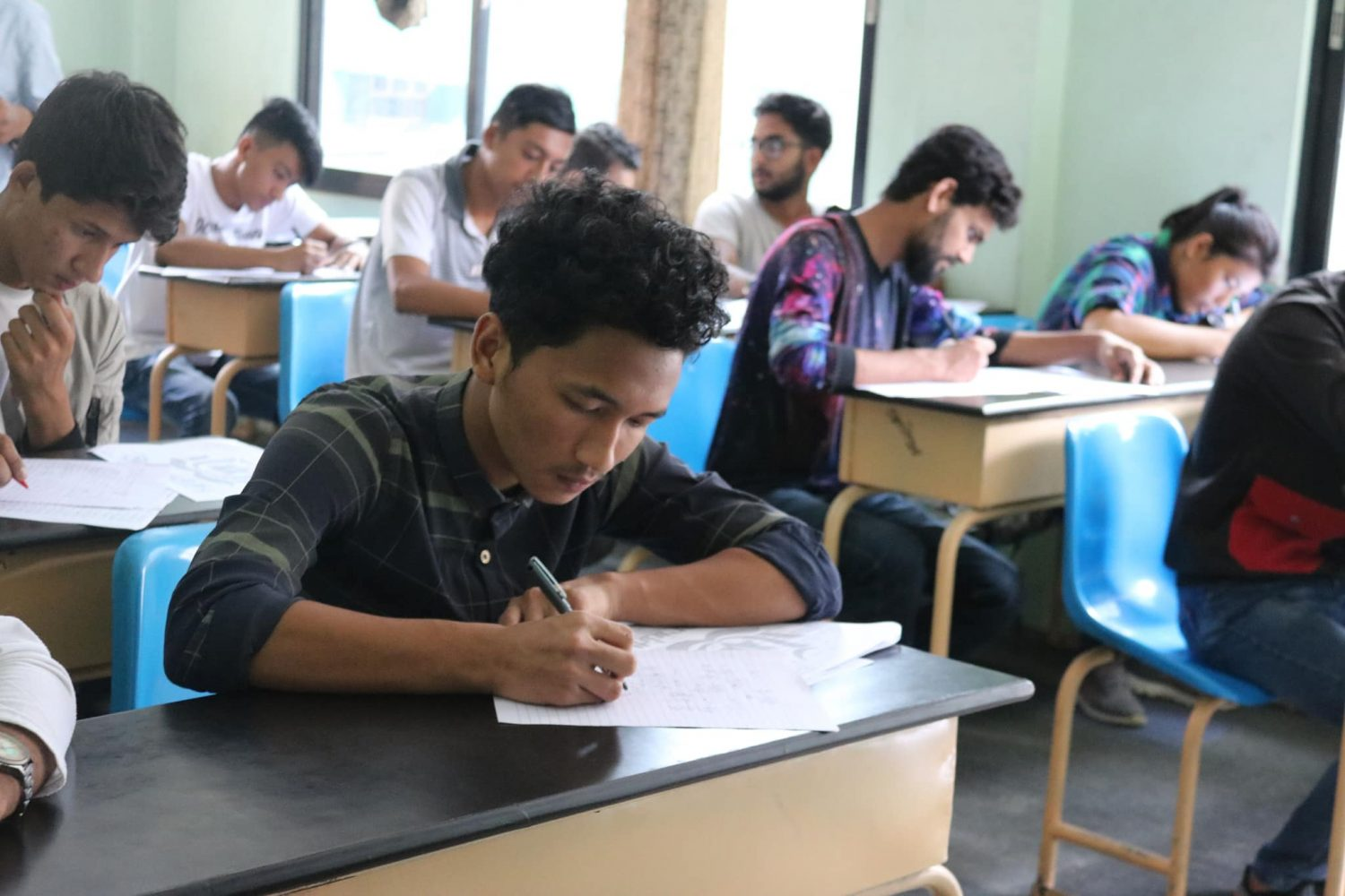 Student of Saral Shikshya atteded free Mock test of BCA | BSc.CSIT | BBS
