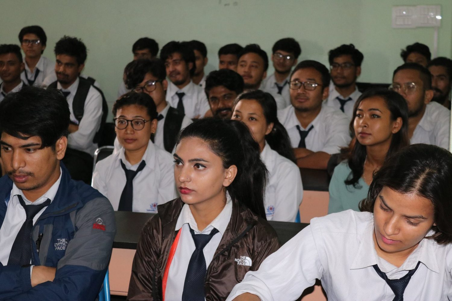 BSc.CSIT Student Attending Work Shop in College