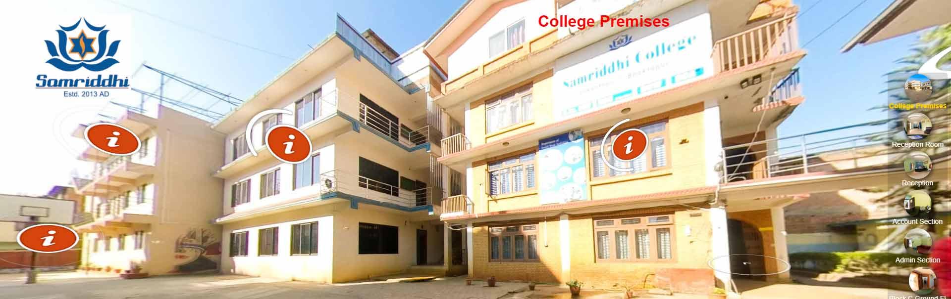 Samriddhi College Virtual tour